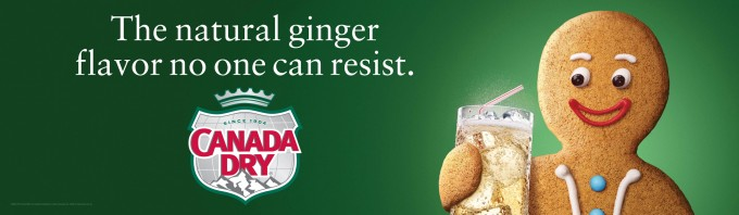 Canada Dry Ginger Ale Outdoor